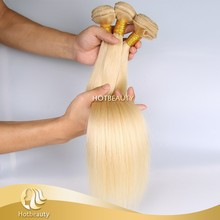 Hair Weaving Remy Russian Human Hair Extensions 613 color