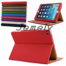 for ipad stand Suede Smart Sleep & Wake Magnetic Leather Case Cover for ipad air 2 case