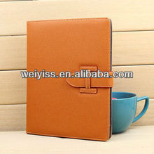 leather smart cover, with strong magnetic, wake sleep function