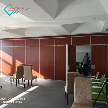 high quality aluminum frame fire resistant movable acoustic partition wall for showroom