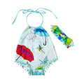 2017New fashion baby girls bubble sunsuit romper,cotton sunsuit romper