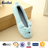 blue cute cartoon small woman shoe