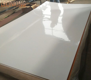 LEONKING  combi white matt 3.6mm polyester coated plywood  resin for plywood boats