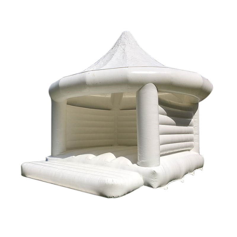Inflatable bouncer bouncy castle for wedding and party use