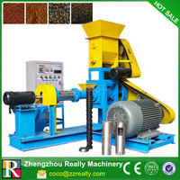 fish feed manufacturing machinery/fish feed production plant