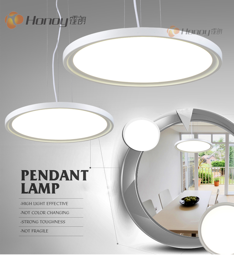 CE Rohs Approval 36W Residential Design Acrylic Indoor Modern Led Pendant Lamp