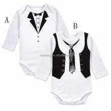 Gentleman long sleeve spanish baby clothing