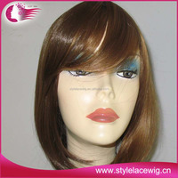 high quality fashion lady short synthetic wigs for sale