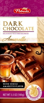 dark chocolate amaretto 50% cocoa
