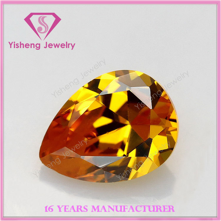 Brilliant NCZ synthetic diamond Amber jewelery from the manufacturer