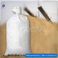 Green Woven Polypropylene Empty Sandbags Sacks Flood Defence Sand Bags