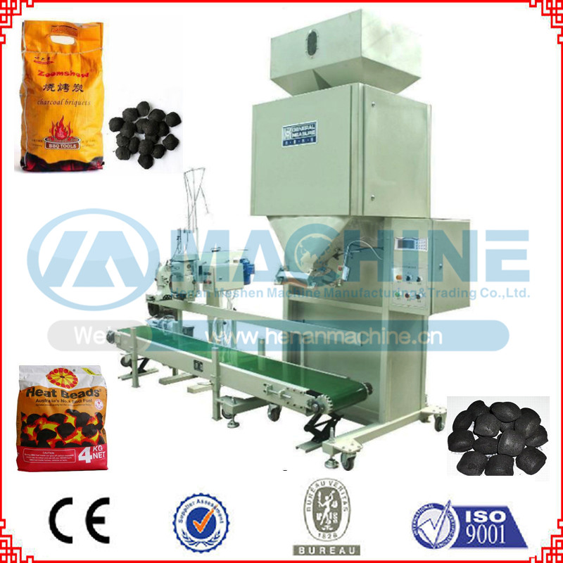Clients favorite charcoal balls packing machine approved by CE