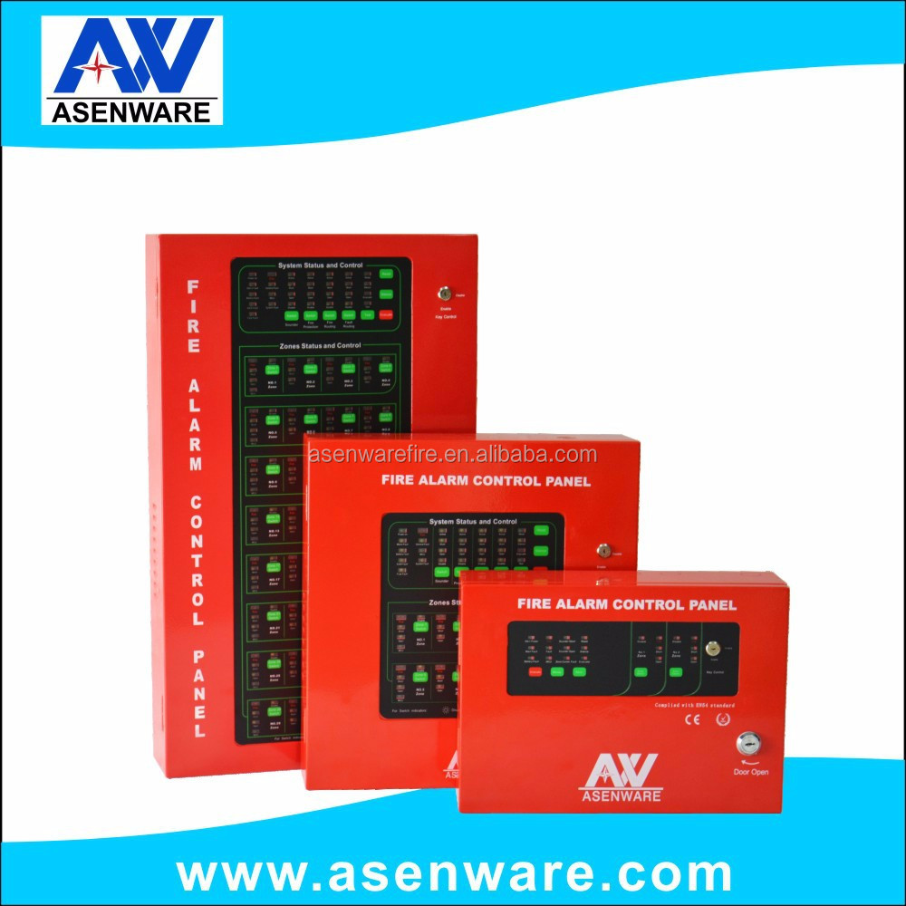 SASO/CE approval 1-32-zone 24V 2-wire Network Conventional Fire Alarm System