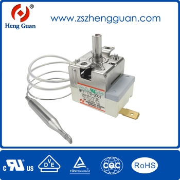 Electric water bolider capillary thermostat WYF series