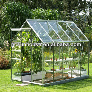 4mm polycarbonate hollow sheet greenhouse, polycarbonate greenhouse roofing