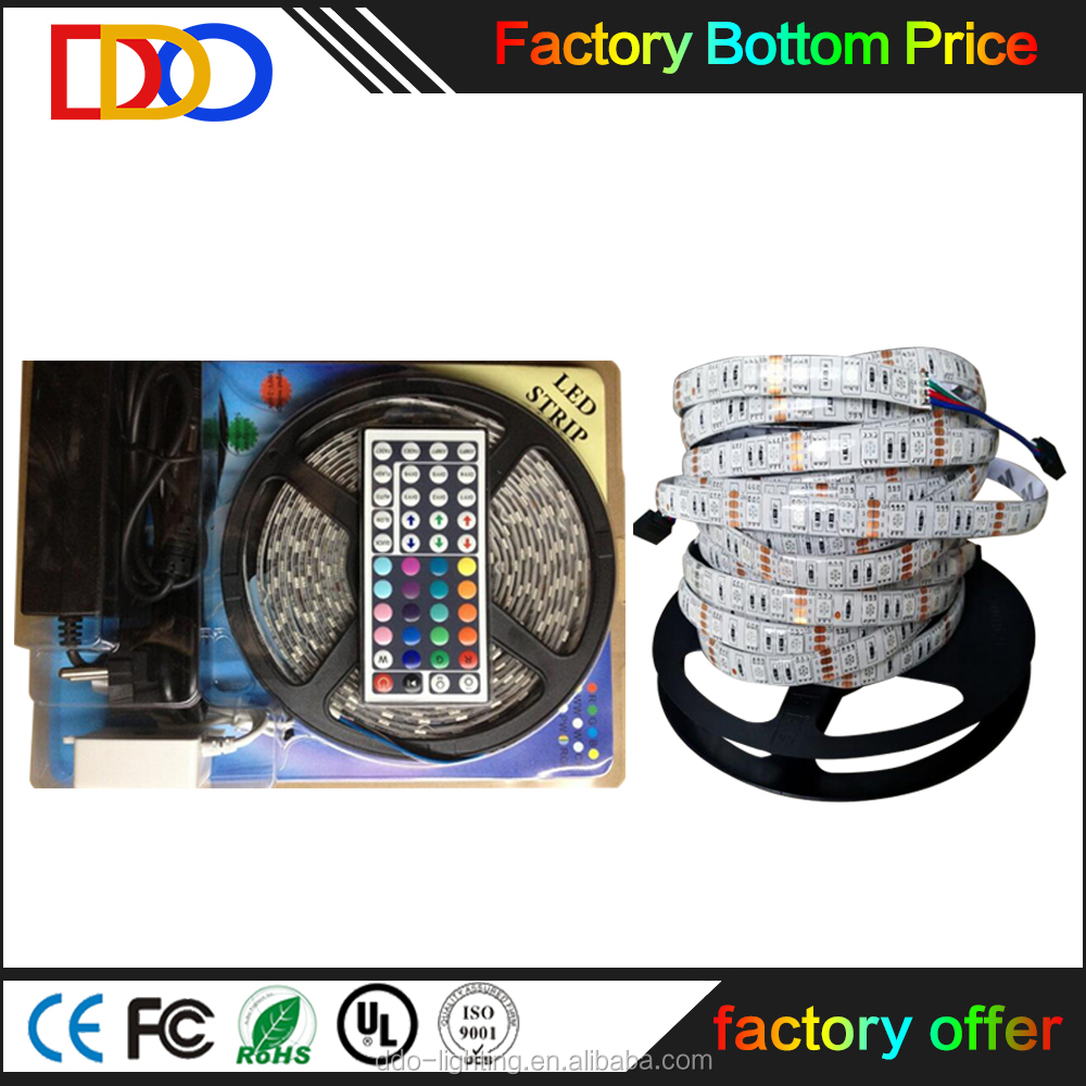 rgb 5050 led strip kit with a very cheap factory price