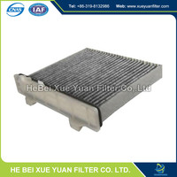 good XUEYUAN carbon cabin air intake filter MR500057 factory