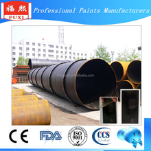 High Buid Coal Tar epoxy anti rust coating Paint for pipeline