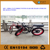 Powerful 48V 500W brushless motor fat tire electric bike/japanese electric bike chinese