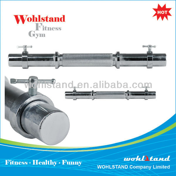 PAIR OF STANDARD WEIGHTS GYM FITNESS DUMBBELL BARS