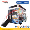 Guangzhou professional Truck Mobile 5D Cinema, 7D cinema and 9D cinema equipment