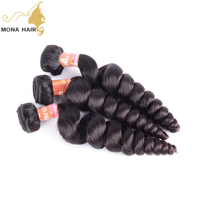 High quality new wave bouncy curl virgin unprocessed hair price for peruvian hair