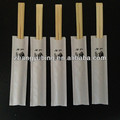 21cm disposable paper wrapped tensoge bamboo chopsticks