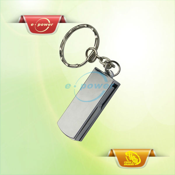 E-Power Factory Price Hot Sales Metal USB Stick with Key Chain U1051