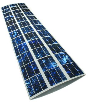 Solar Electric Panels In Curved Glass Buy Solar Electric