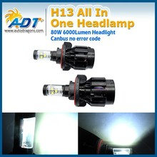 Car accessories auto lamp h13 car led headlight 40w g4 led headlights