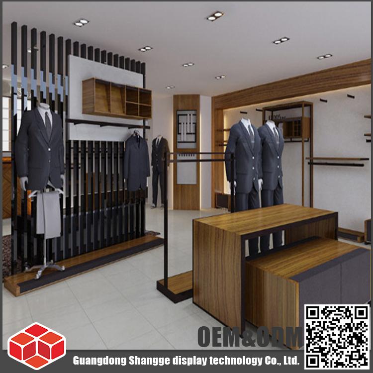 SUNSG Tailor Made Modern Custom Menswear Shop Interior Design