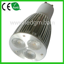 Good price of theater spotlights for sale GU10 spot light 3*3W