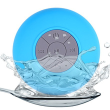 Free Shipping 2016 New Portable Mini Car Music Player Handsfree with Dedicated Suction Cup Waterproof Bluetooth Shower Speaker