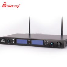 Kênh kép FM mircophone Wireless Microphone Nghề BETTERWAY BH-1010