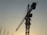 QTZ40 TC4708 small high quality self raising tower jib crane