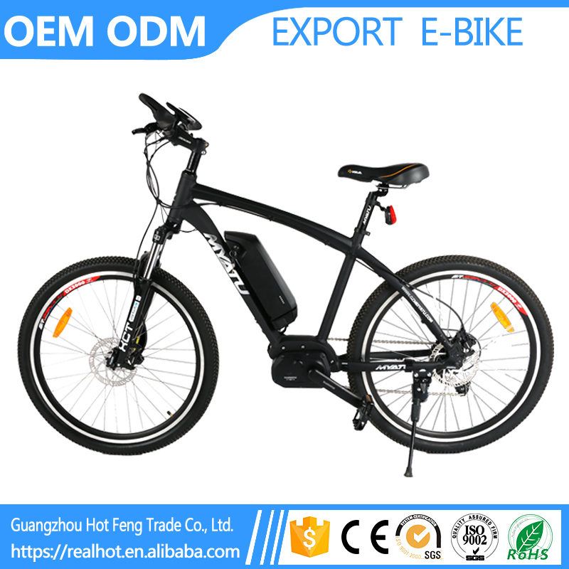 High Grade Cheap 26 inch Carbon Fiber Motor LCD Meter System Booster Mid Drive Motor Electric Mountain Chopper china bike