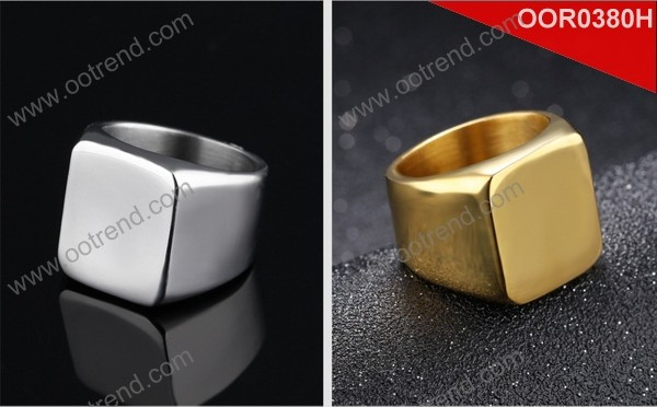 stainless steel finger ring fashion designs 2018 hot sales customized ring