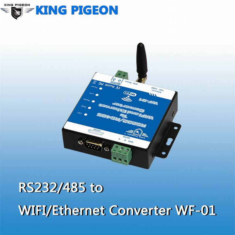 NEW RS232 TO WIFI RS485/ RJ45 Ethernet Converter WF-01