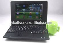 Google Android 2.2 tablet pc VIA 8650 laptop 7 inch