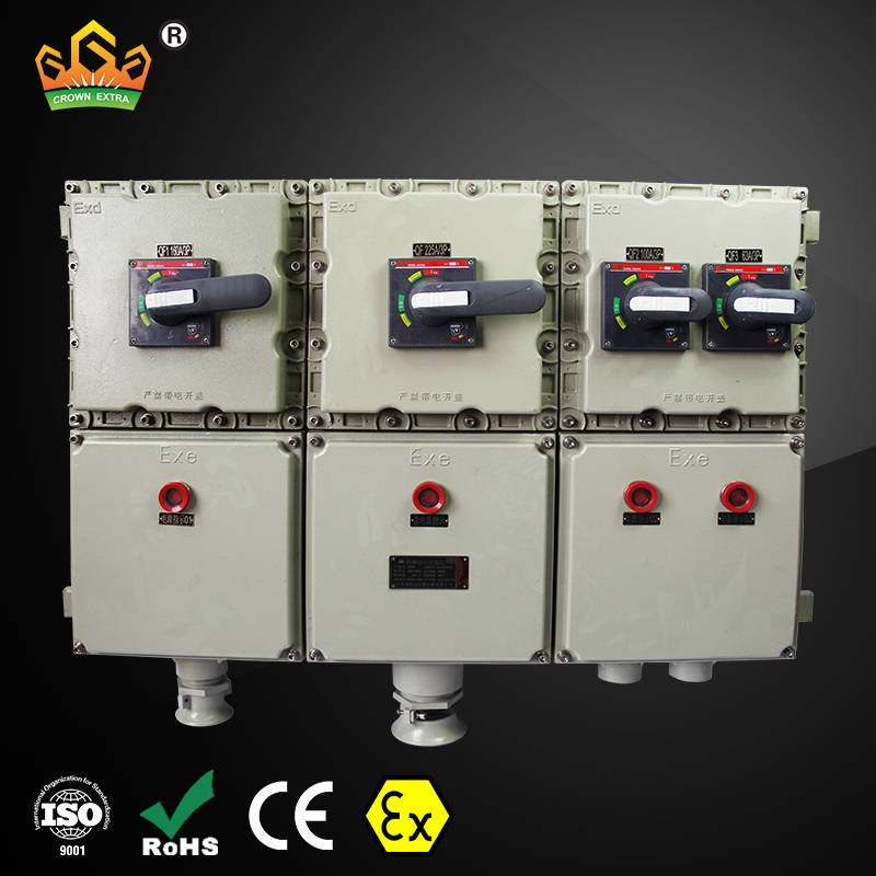 explosion proof 600v db electrical distribution box 2 panel board
