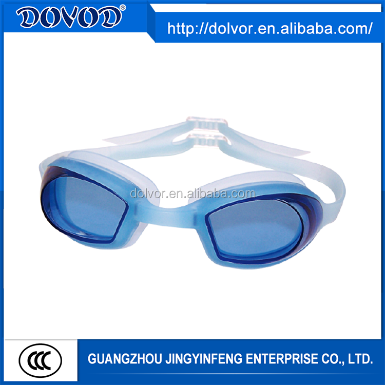 Custom design silicone goggle swimming equipment china factory swimming goggles