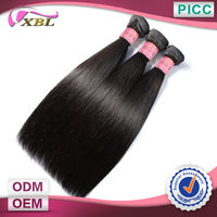 24''Free Shipping 3pcs A Set 5A Straight Human Hair Indian Remy