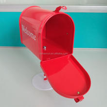 Good quality POWER COATING novelty trash can With different design