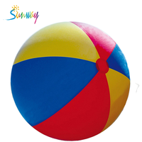 Large inflatable branded beach balls portable inflatable beach ball/balloon