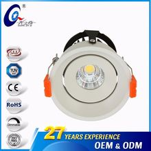 Round 3Inch 7W/9W Recessed Spot Light ROHS Ceiling 220 Volt Led Lights