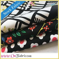 Cheap Cotton Spandex Twill Printed Textile