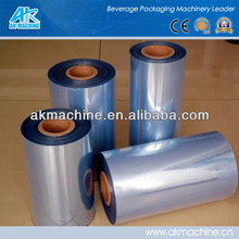 Transparent clear Plastic PVC Shrink Film/ PVC packaging film