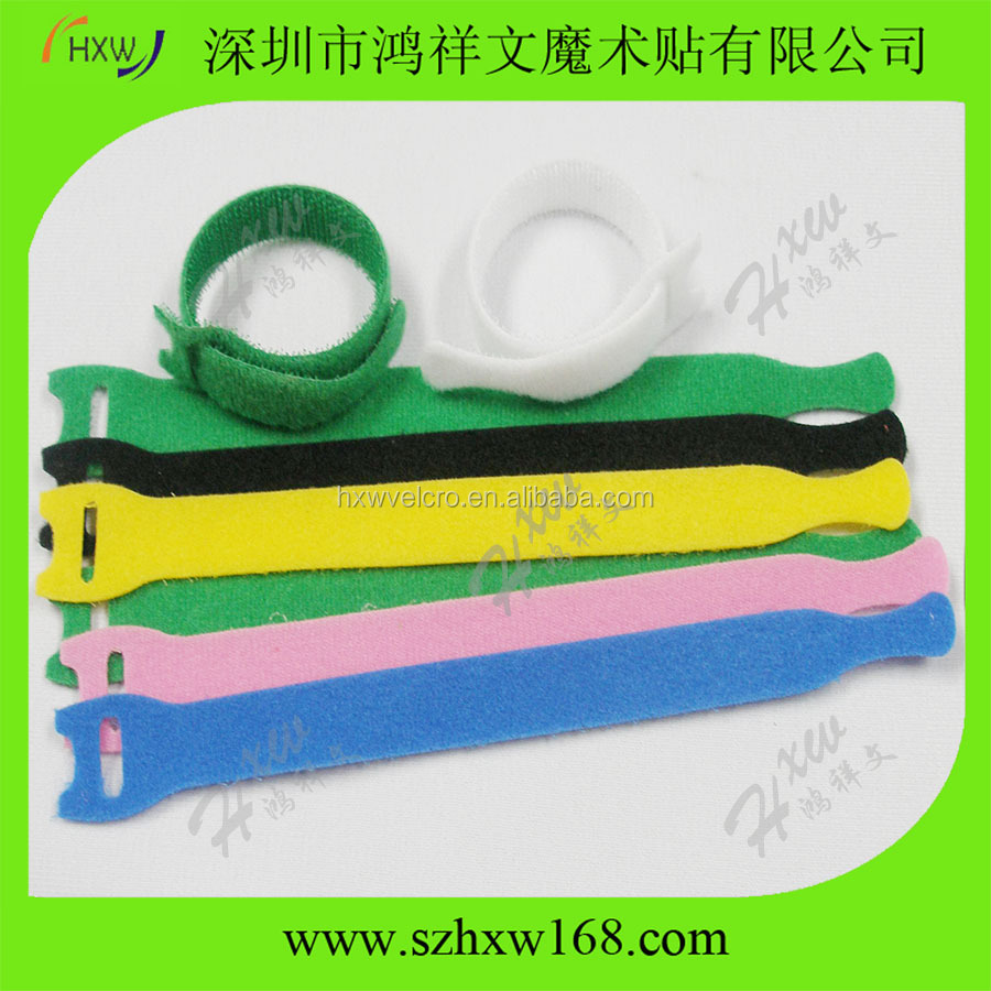 Custom logo printed 100% nylon reusable cable tie