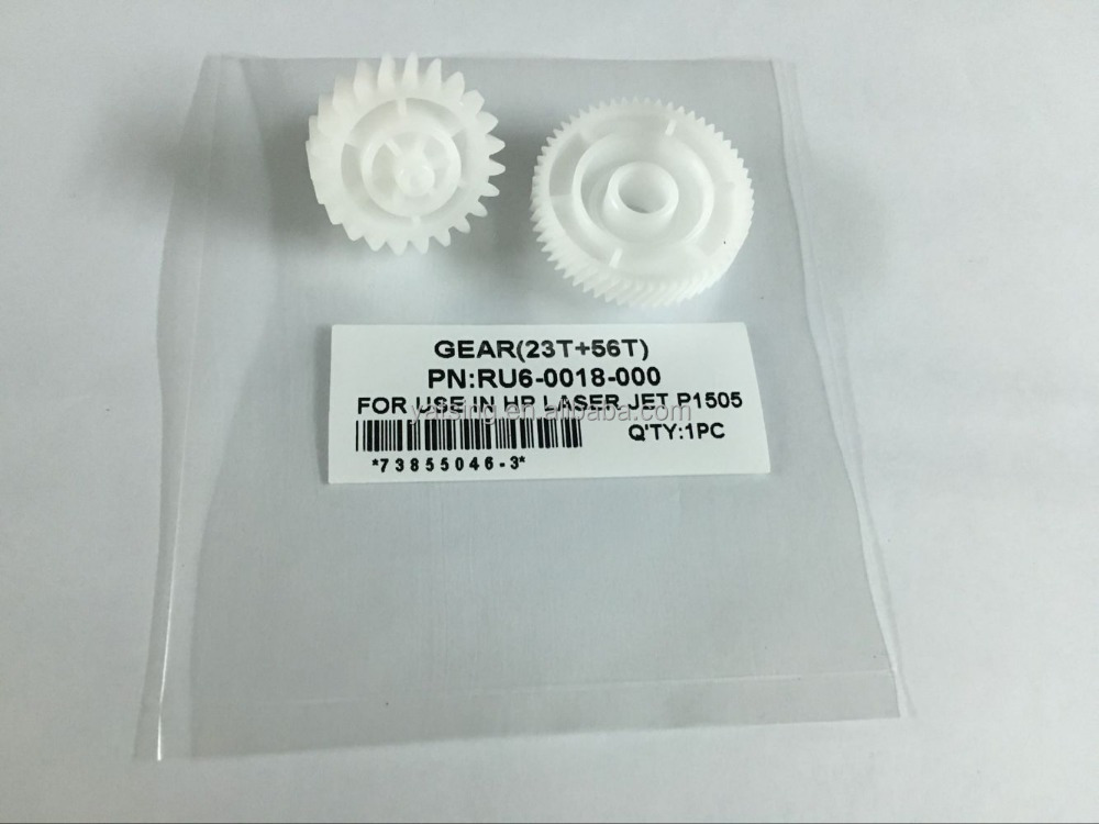 High quality GEAR RU6-0018-000 FOR USE IN P1505 PRINTER PARTS