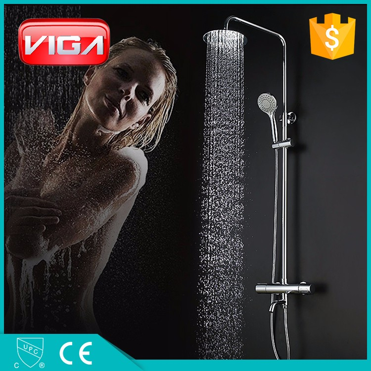 thermostatic bath shower round thermostatic shower mixer